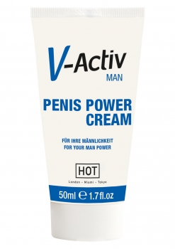 HOT V-Activ Penis Power Creme 50ml