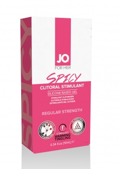 JO SPICY Clitural Stimulant Lube 10ml