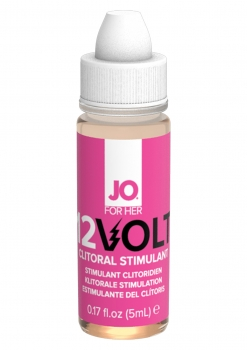 JO 12 VOLT Klitoris Stimulation Oel 5ml