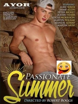 PASSIONATE SUMMER Gay Erotik Sex Porno DVD Film