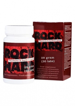 ROCK HARD PILLS Potenzmittel Kapseln