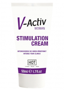 HOT V-Activ Stimulation Gel für Frauen 50ml