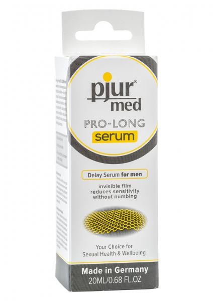 PJUR MED Verzögerungsmittel Pro Long Serum Gel 20ml