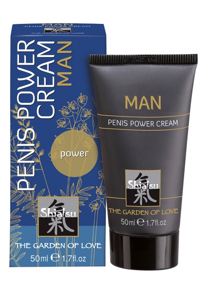 SHIATSU Penis Power Volume Cream 50ml