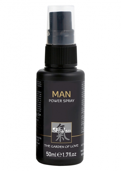 SHIATSU Man Power Delay Spray 50ml