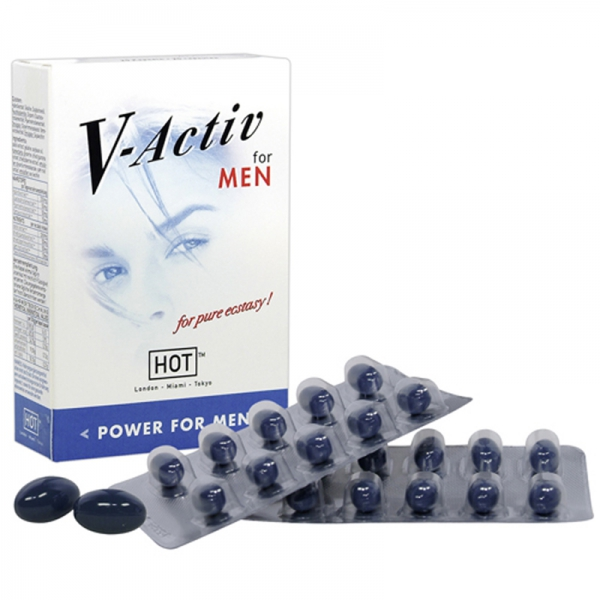 HOT V-ACTIV MEN Potenzmittel Kapseln
